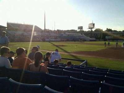 Frawley Stadium, section: 6, row: 8, seat: 3