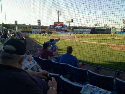 Frawley Stadium section 16