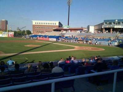 Frawley Stadium, section: m, row: 2, seat: 21