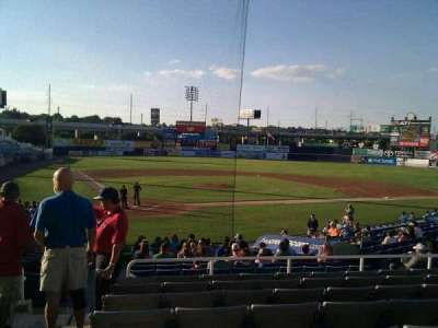 Frawley Stadium, section: e, row: 8, seat: 15