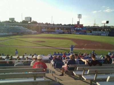 Frawley Stadium, section: c, row: 7, seat: 1