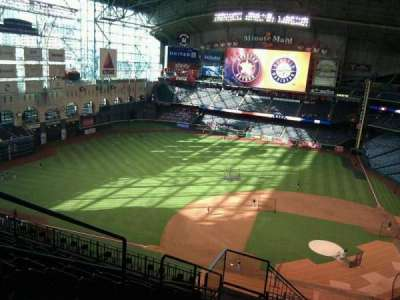 Minute Maid Park, section: 414, row: 9, seat: 3