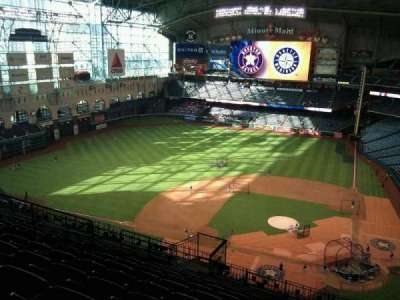 Minute Maid Park, section: 415, row: 12, seat: 10