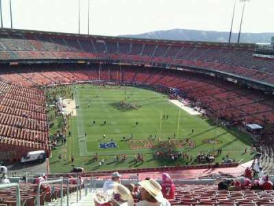 Candlestick Park section 56
