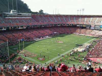 Candlestick Park section 21