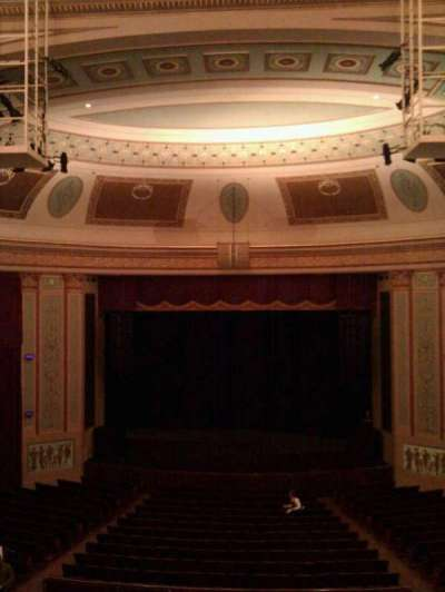 Strand-Capitol Performing Arts Center, section: balcony center, row: c, seat: 106