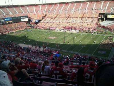 Candlestick Park, section: 12, row: 18, seat: 8