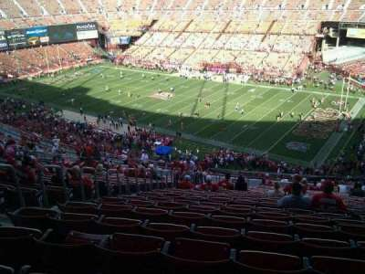 Candlestick Park, section: 10, row: 23, seat: 17