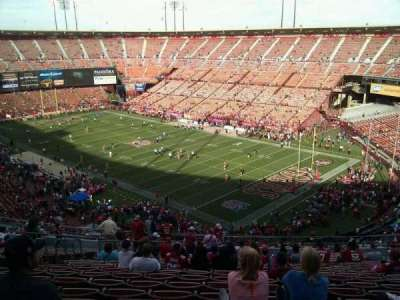 Candlestick Park, section: 6, row: 18, seat: 13