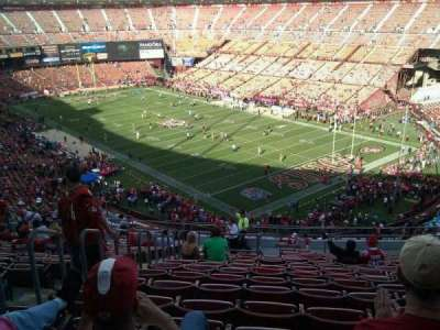 Candlestick Park, section: 4, row: 17, seat: 18