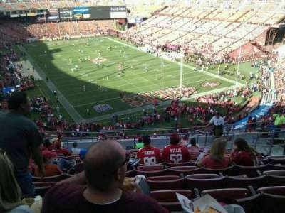Candlestick Park, section: 1, row: 14, seat: 7