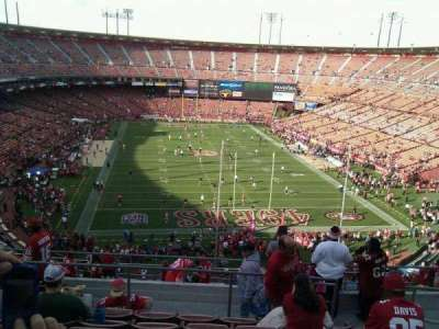 Candlestick Park, section: 5, row: 9, seat: 4