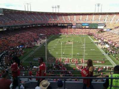 Candlestick Park, section: 9, row: 6, seat: 8