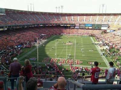 Candlestick Park, section: 11, row: 7, seat: 19