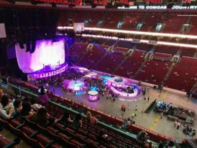 Wells Fargo Center, section: 203, row: 11, seat: 23