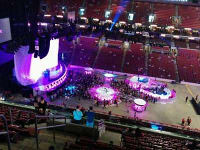 Wells Fargo Center, section: 201, row: 13, seat: 3