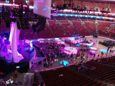 Wells Fargo Center, section: 221a, row: 1, seat: 6