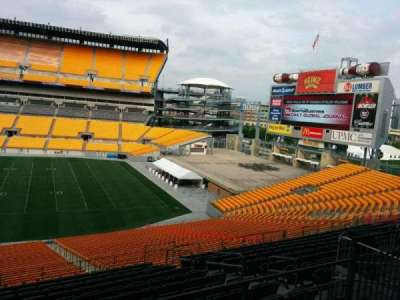 Heinz Field, section: 237, row: O, seat: 6