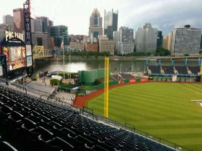 PNC Park, section: 332, row: V, seat: 5