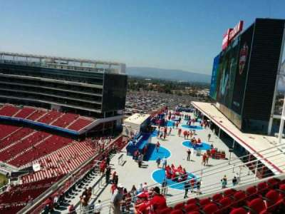 Levi's Stadium section 401