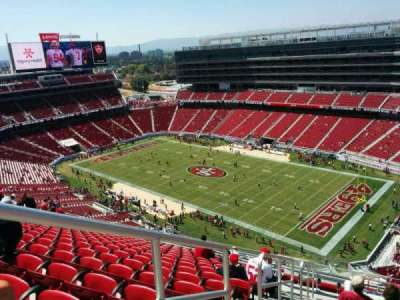 Levi's Stadium, section: 405, row: 16, seat: 34