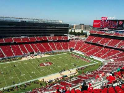 Levi's Stadium, section: 415, row: 15, seat: 18