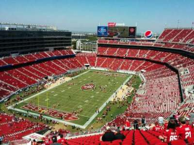 Levi's Stadium, section: 421, row: 19, seat: 19