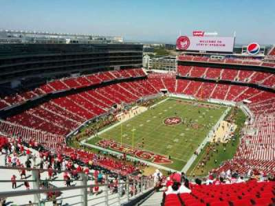 Levi's Stadium, section: 422, row: 24, seat: 26