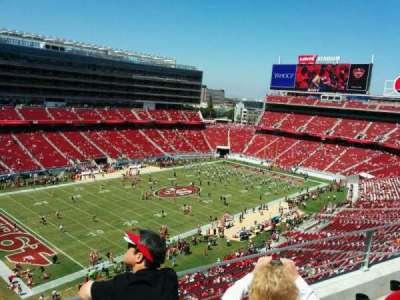 Levi's Stadium, section: 320, row: 3, seat: 11