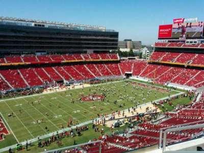 Levi's Stadium, section: 319, row: 4, seat: 3