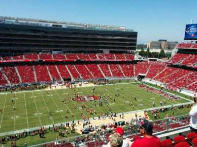 Levi's Stadium, section: 317, row: 5, seat: 12