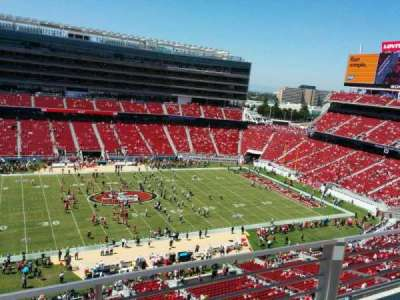 Levi's Stadium, section: 316, row: 2, seat: 22