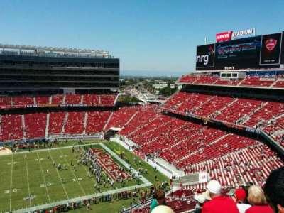 Levi's Stadium, section: 313, row: 7, seat: 13