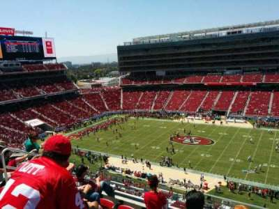 Levi's Stadium, section: 312, row: 5, seat: 17