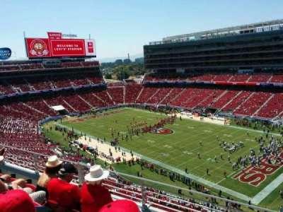 Levi's Stadium, section: 309, row: 4, seat: 12