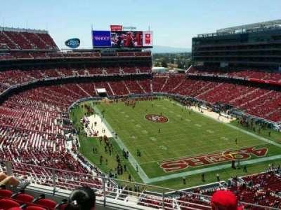 Levi's Stadium, section: 306, row: 5, seat: 11
