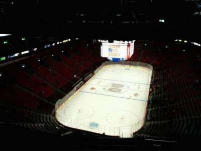 Centre Bell, section: 427, row: B, seat: 5