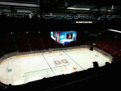Centre Bell, section: 404, row: C, seat: 2