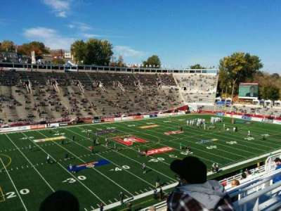 Percival Molson Memorial Stadium, section: w2, row: 10, seat: 28