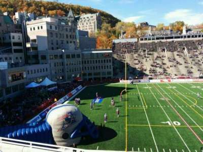 Percival Molson Memorial Stadium, section: x2, row: 6, seat: 22