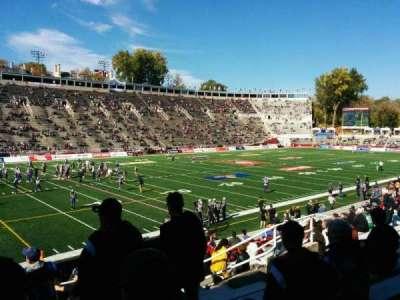 Percival Molson Memorial Stadium, section: y1, row: 13, seat: 14