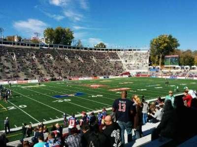 Percival Molson Memorial Stadium, section: X1, row: 12, seat: 20