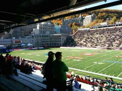 Percival Molson Memorial Stadium section t1