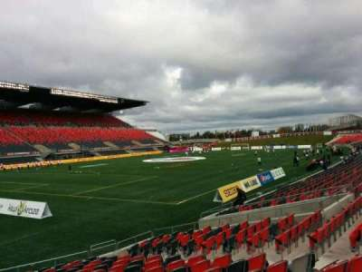 TD Place Stadium section Y