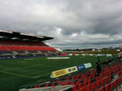 TD Place Stadium, section: X, row: 15, seat: 17