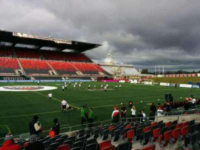 TD Place Stadium, section: T, row: 13, seat: 9