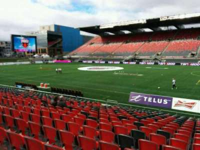 TD Place Stadium, section: P, row: 18, seat: 10