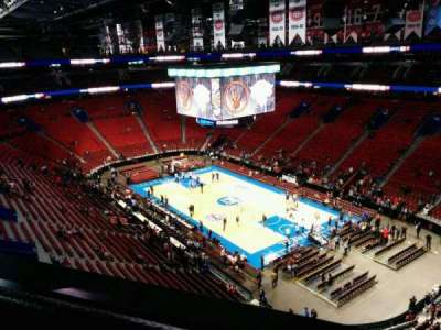 Centre Bell, section: 332, row: AA, seat: 1
