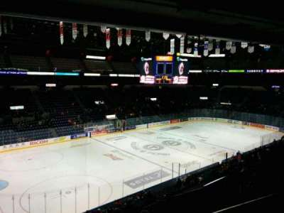 Colisée Pepsi, section: 206, row: E, seat: 16