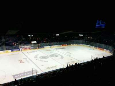 Colisée Pepsi, section: 208, row: G, seat: 10